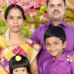 Hav K Palani with his family