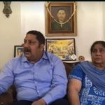 Major Narain Singh's wife Smt Urmila Bhatiyal and son Dr. Narinder singh