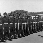 Capt Daljinder Singh during his training days