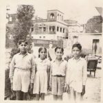 2nd Lt IK Gupta as a young boy on the extreme left