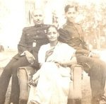 2nd Lt IK Gupta with his parents