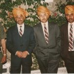 Maj Abhijit Kumar Das with his unit comrades
