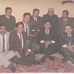 Maj Abhijit Kumar Das with his comrades