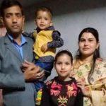 Hav Pranay Kalita with his family