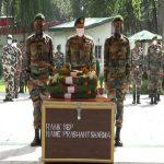 Army pays tribute to Sep Prashant Sharma