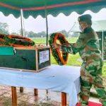 Army pays tribute to Hav Sambur Gurung