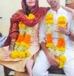 Cdr Nishant Singh in his marriage ceremony