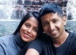 Cdr Nishant Singh with his wife