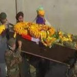 The last journey of Sep Sukhbir Singh