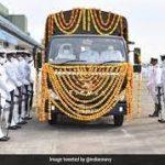 Last journey of Cdr Nishant Singh
