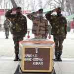 Army pays tribute to Lance Dafadar Deepak Kumar