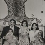 Maj Ranvir Singh with his family