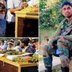 The last journey of Lance Naik Raj Singh