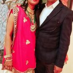Hav Dat Ram with his wife Smt Pinki Devi
