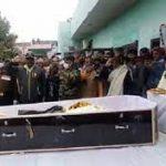 People paying tributes to Nb Sub Ravinder Singh