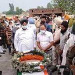 The last journey of Sep Pargat Singh