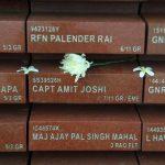 His name in National War Memorial