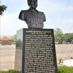 2nd Lt Arun Khetarpal's bust at National Defence Academy, Pune.