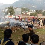 Cheetah chopper of Maj Lathar that crashed