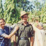 Lt Nawang Kapadia with family members
