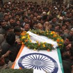 The last journey of Ptr Shabir Ahmad in his home town
