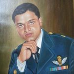 Portrait of Maj Atul Garje SM