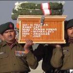 Last journey of Martyr Captain Pawan Kumar