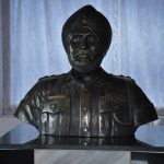 Subedar Joginder Singh's bust
