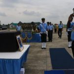 IAF Officials' last Salute to Flight Lieutenant S Achudev