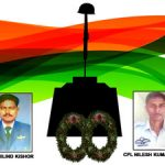 Sgt K Milind Kishor & Cpl Nilesh Kumar