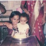 Fg Offr Suraj Pillai birthday photo in childhood