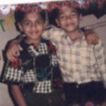 Fg Offr Suraj Pillai childhood photo
