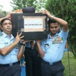 The last journey of Wg cdr Mandeep singh Dhillon