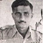Sqn Ldr A B Devayya as a young fighter pilot of the IAF