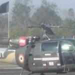 Lt Colonel Rajneesh Kumar-chetak-helicopter-
