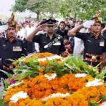 Army's last salute to its valiant son Lt Col. Ranjit Singh