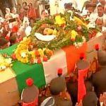 Army paid floral tributes toSep Deepak Jagannath Ghadge,