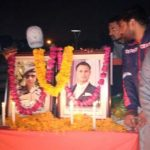 Family and well wishers remembering Maj Arvind Bazala