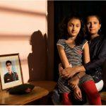 Naik Thimmaiah's wife Asha Thimmaiah and daughter Deeya