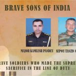 Maj Kamlesh Pandey and Sep Tanzing martyred on 03 Aug 2017