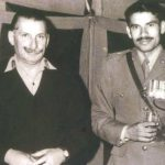 Col Hoshiar Singh with Chief army staff Gen Manekshaw (1972)