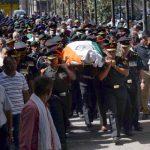 Brigadier Manuhar sharma final cremation