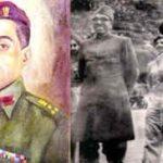 Brigadier Muhammad Usman with sheikh Mohammad Abdhulla