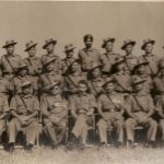 Capt Ghosh with his course mates of 2/8 Gorkha Regiment (Maneckshaw sitting in center)