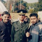 Capt Pawan Kumar at the tym of passing out....at IMA, Dehradun