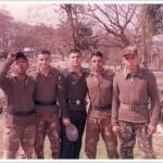 Capt Sunil Choudhary with his comrades