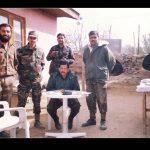 Capt Atul Sharma with his comrades