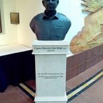 Bust of Capt Mulla in his honour