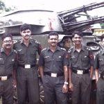 Captain Atul Sharma with his comrades