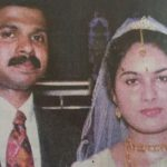 Captain Jerry Prem Raj with his wife Praseena